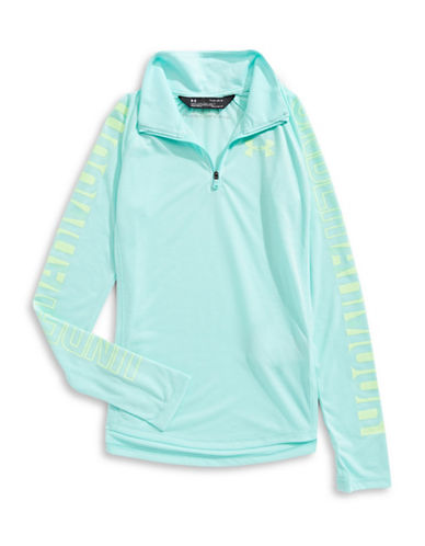 Under Armour Threadborne Quarter-Zip Sweater-BLUE-X-Small