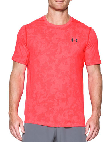 Under Armour Threadborne Elite Fitted T-Shirt-RED-Small
