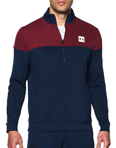 Under Armour Sportstyle Track Jacket-BLUE-Medium