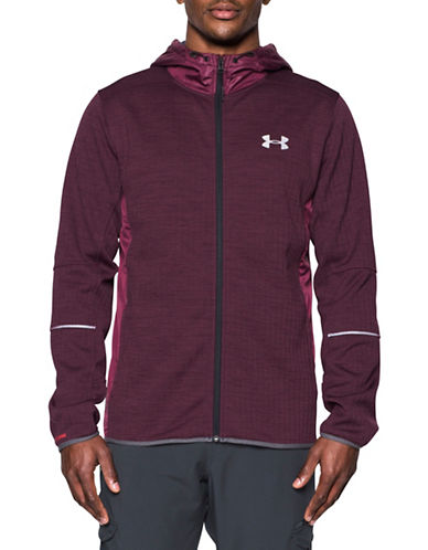 Under Armour UA Storm Patterned Swacket-RED-X-Large