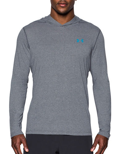 Under Armour UA Threadborne Siro Hoodie-GREY-Medium 89352014_GREY_Medium