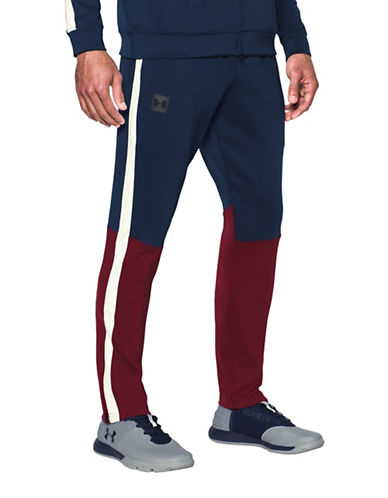 Under Armour Sportstyle Track Pants-BLUE-Large