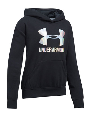 Under Armour Threadborne Fleece Hoodie-BLACK-X-Small 89638453_BLACK_X-Small