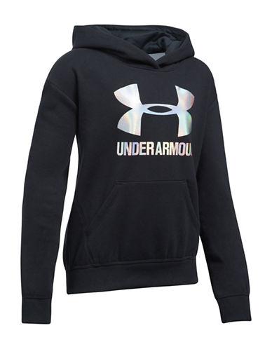 Under Armour Threadborne Fleece Hoodie-BLACK-X-Large 89638458_BLACK_X-Large
