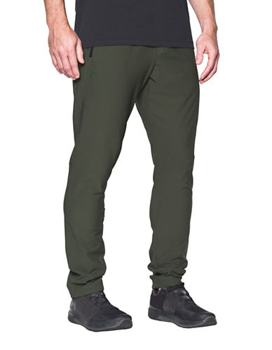 Under Armour WG Woven Pants-GREEN-Large