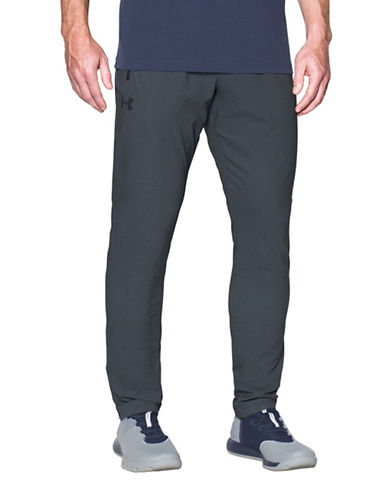 Under Armour Woven Tapered Leg Pants-GREY-X-Large 89322681_GREY_X-Large
