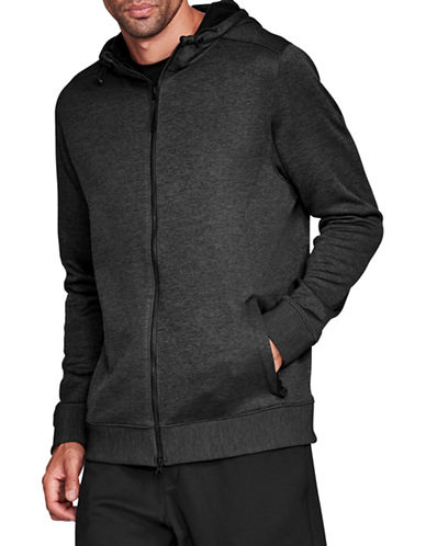 Under Armour Sportstyle Hooded Fleece Sweater-BLACK-X-Small 89694314_BLACK_X-Small