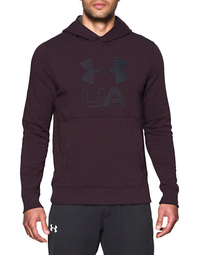 Under Armour Threadborne Fleece Graphic Hoodie-RED-X-Large 89671439_RED_X-Large