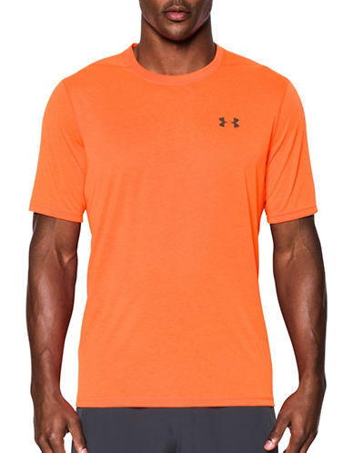 Under Armour Threadborne Siro T-Shirt-ORANGE-XX-Large