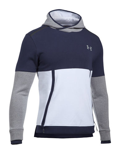 Under Armour Threadborne Tri-Toned Hoodie-WHITE-Large 89602448_WHITE_Large