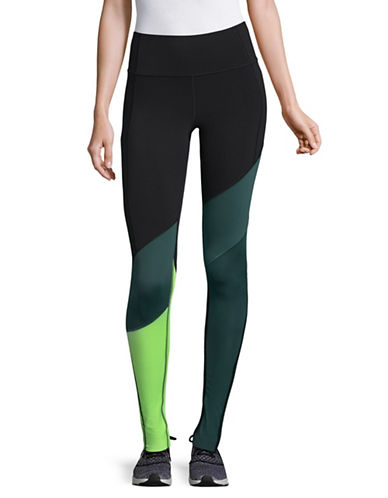 Under Armour Colourblocked Leggings-BLACK-Small 89609830_BLACK_Small