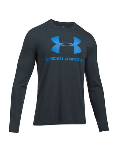 Under Armour UA Sportstyle Long Sleeve T-Shirt-GREY-XX-Large 89351992_GREY_XX-Large