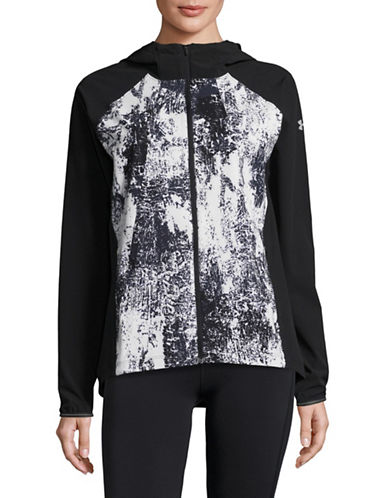 Under Armour Outrun the Storm Jacket-BLACK-X-Small