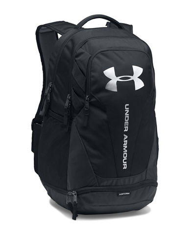 Under Armour Hustle 3.0 Backpack-BLACK/SILVER-One Size