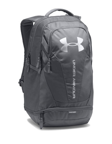 Under Armour Hustle 3.0 Backpack-GREY-One Size