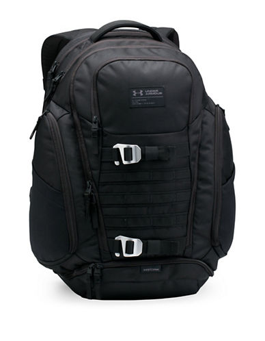 Under Armour Huey Backpack-BLACK-One Size