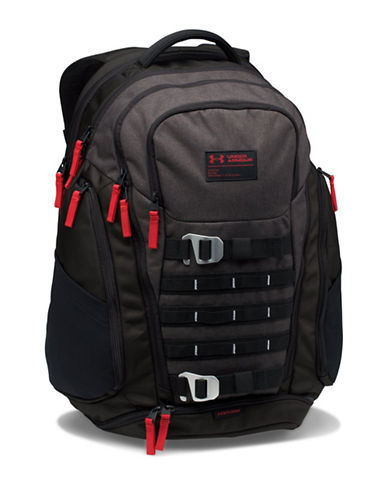 Under Armour Huey Backpack-RED-One Size