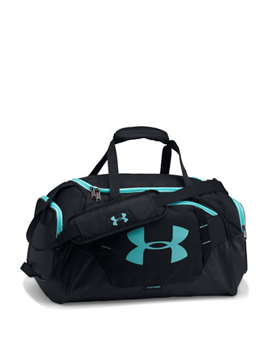 Under Armour Undeniable Colorful Small Duffle Bag-BLACK/BLUE-One Size