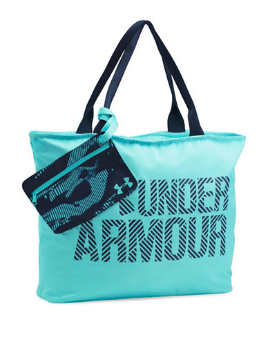 Under Armour Big Wordmark Tote-BLUE-One Size