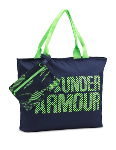 Under Armour Big Wordmark Tote-MIDNIGHT NAVY-One Size
