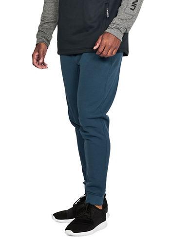 Under Armour Novelty Twill Jogger Pants-BLUE-Medium 89671478_BLUE_Medium