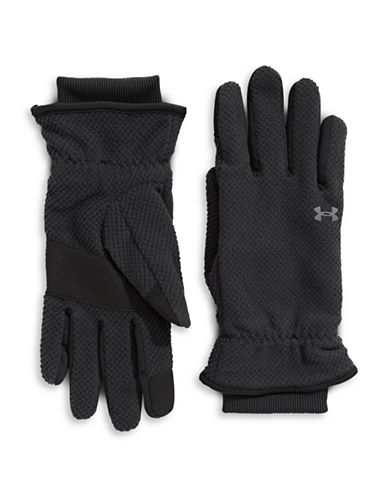 Under Armour CGI Fleece Gloves-BLACK-Large 89815954_BLACK_Large