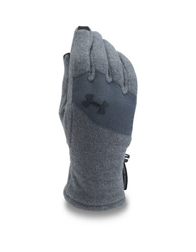 Under Armour ColdGear Survivor Fleece Gloves-GREY-Medium 89353245_GREY_Medium