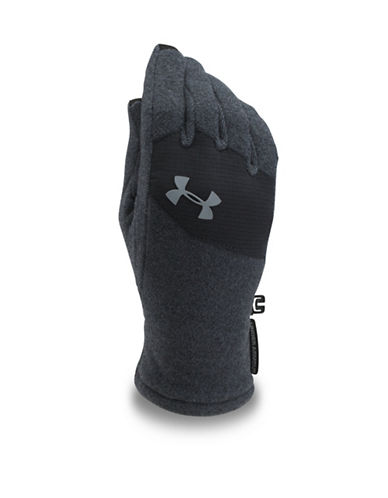 Under Armour ColdGear Survivor Fleece Gloves-BLACK-Medium