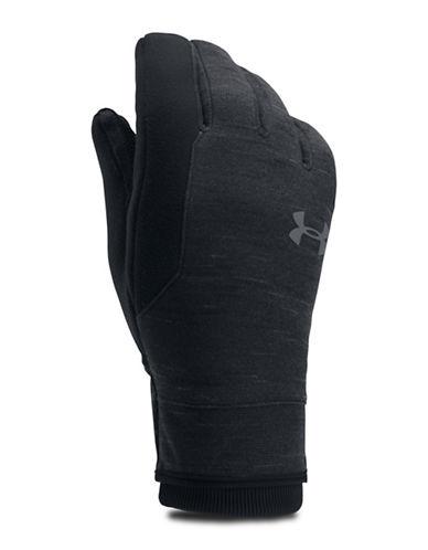 Under Armour ColdGear Reactor Fleece Gloves-BLACK-Large