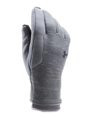 Under Armour ColdGear Reactor Fleece Gloves-GREY-X-Large