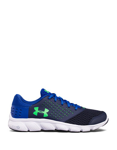 Under Armour Grade School UA Micro G  Rave-NAVY-7