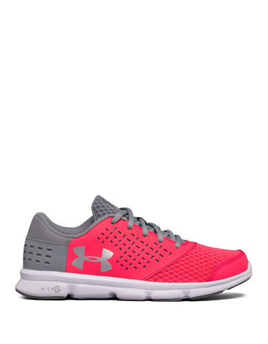Under Armour Grade School UA Micro G  Rave-PINK-5.5