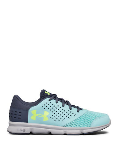 Under Armour Grade School UA Micro G  Rave-BLUE-6
