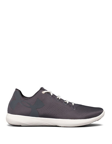 Under Armour Womens Street Precision Low-GREY-9