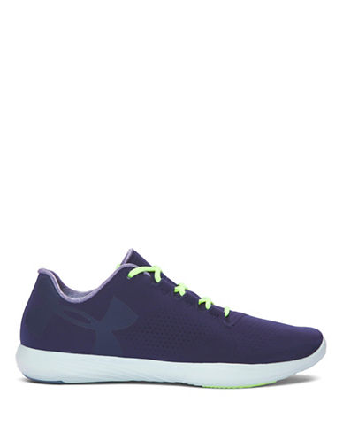 Under Armour UA Street Precision Low Sneakers-NAVY-8.5