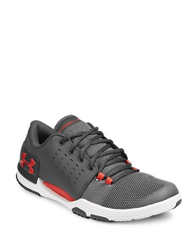 Under Armour Mens Limitless 3.0 Training Shoes-GREY-12.5