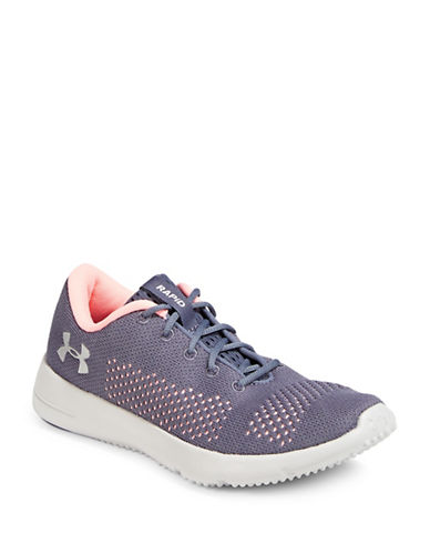 Under Armour Rapid Low Top Sneakers-GREY-8.5