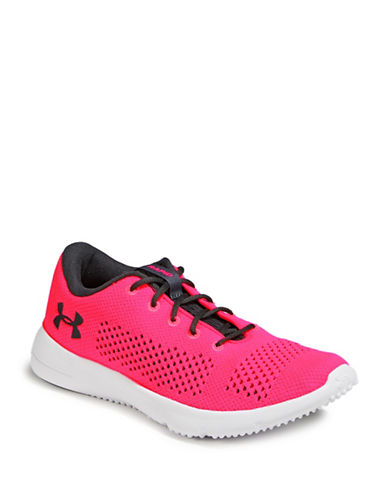Under Armour UA Womens Rapid Running Shoes-PINK-6.5