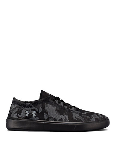 Under Armour Lace-Up Lifestyle Sneakers-BLACK-5