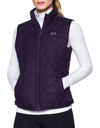 Under Armour ColdGear Reactor Hypoallergenic Vest-PURPLE-Small