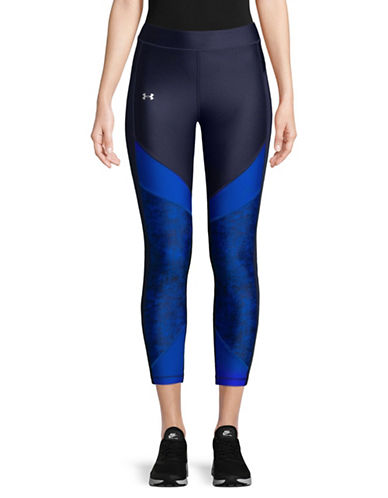 Under Armour HeatGear Two-Tone Leggings-BLUE-X-Small 89655910_BLUE_X-Small