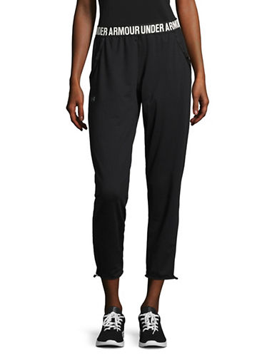 Under Armour Uptown Knit Jogger Pants-BLACK-Small