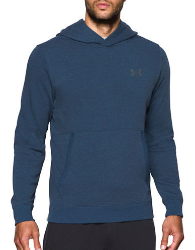 Under Armour Threadborne Fleece Hoodie-BLUE-X-Large