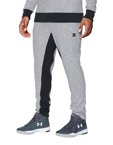 Under Armour Two-Tone Sub Fleece Sweatpants-GREY-Medium 89461610_GREY_Medium