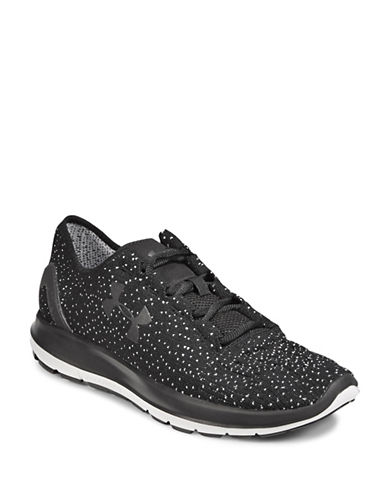 Under Armour Speedform Knit Sneakers-BLACK-9