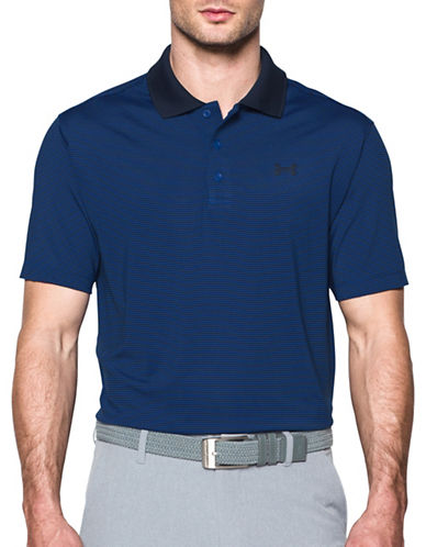 Under Armour UA Release Polo-BLUE-Medium