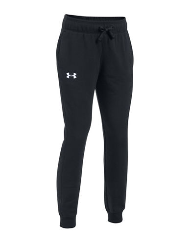 Under Armour Threadborne Fleece Cotton Jogger Pants-BLACK-X-Small 89638497_BLACK_X-Small