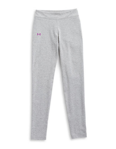 Under Armour Favourite Knit Leggings-GREY-Large 89325662_GREY_Large