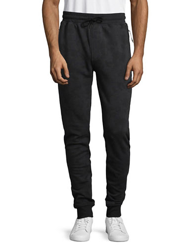 Under Armour Threadborne Stack Jogger Pants-BLACK-Medium