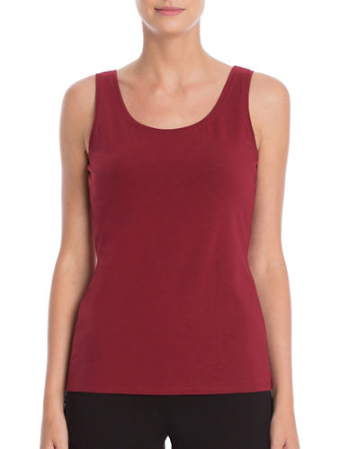Nic+Zoe Perfect Scoop Tank-RED-Large 88698995_RED_Large